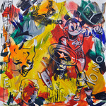 Future Acryl auf Leinwand 80 x 80 cm, 2016