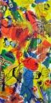 Disney Acryl auf Leinwand 200 x 100 cm, 2017