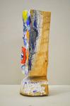 Häfner + Häfner Linde, farbig gefasst Höhe 45 cm, 2017