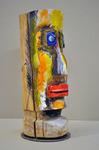 Archetyp II Häfner + Häfner Linde, farbig gefasst Höhe 37 cm, 2017